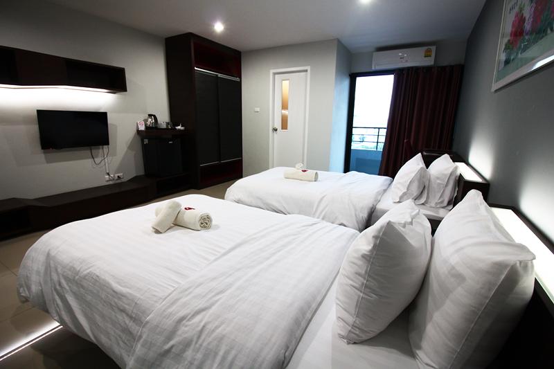 ห้องดีลักซ์ เตียงคู่